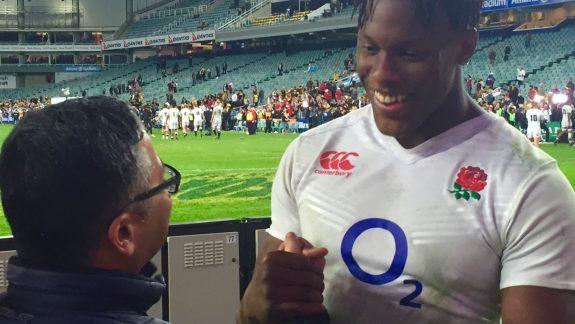 Rugby Superstar Maro Itoje Kicks Back With Former Principal