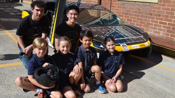 Solar Supercar Comes To Redlands
