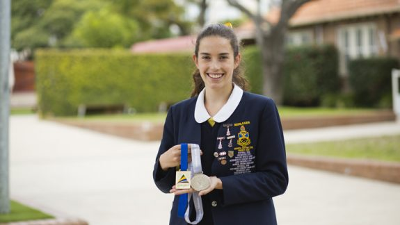 It's Gold and Silver for Zoe in International Science Olympiads