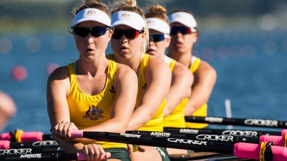Gracing The Junior World Rowing Championships