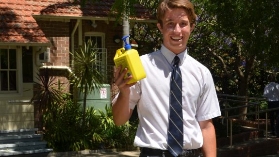 Redlands Student Spreading the Sun Safe Message this Summer