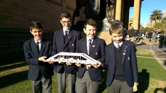 Redlands Students Win Prestigious Engineering Award